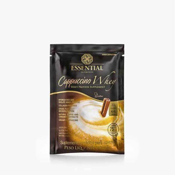 Cappuccino Whey Sachê 32gr - Essential Nutrition