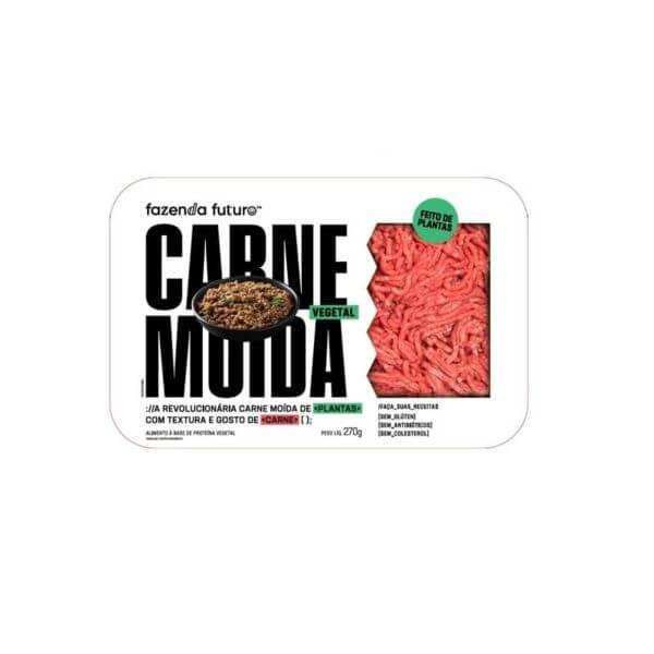 Carne Moida a Base de Plantas 450gr - Fazenda do Futuro