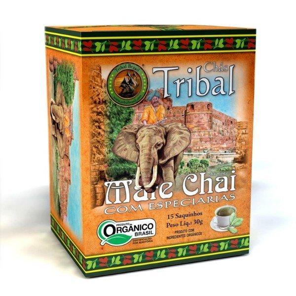 Chá De Erva Mate Orgânico Chai Caixa Com 15 Sachês - cx 35gr - Tribal
