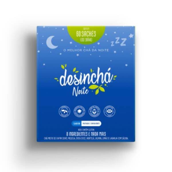 Chá Desinchá Night 60 Sachês - Desinchá
