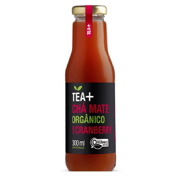 Chá Mate Orgânico Com Cranberry 300ml - Tea Mais