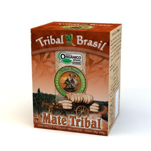 Chá Mate Orgânico Tostado Caixa 100gr - Tribal