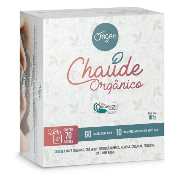 Cha Organico Chaude 70X1,5g - Organ