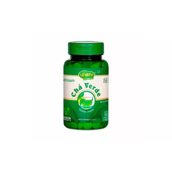 Chá Verde 120 Comprimidos de 400mg - Unilife