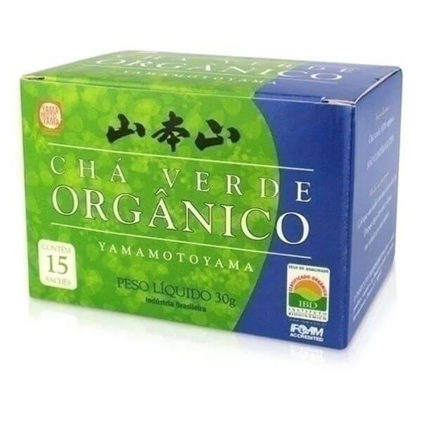 Chá Verde Orgânico 15 Sachês 30gr - Yamamotoya