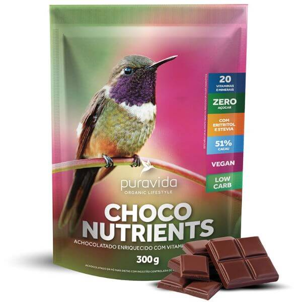 Choco Nutrientes Pack 300gr - Pura Vida