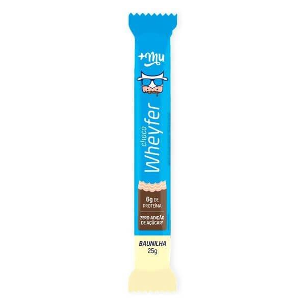 Choco Wheyfer Sabor Baunilha Com Cobertura De Chocolate 25gr - MaisMu