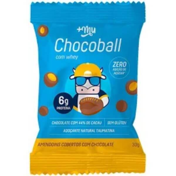 Chocoball Sabor Amendoim Com Cobertura de Chocolate 30gr - MaisMu