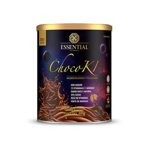 Chocoki Achocolatado Vitaminado 300gr -Essential Nutrition