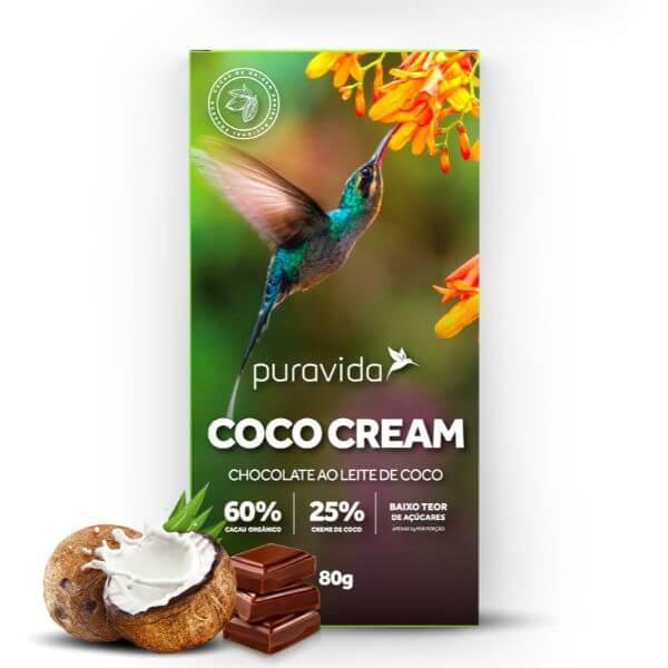 Chocolate Coco Cream 80gr - Pura Vida