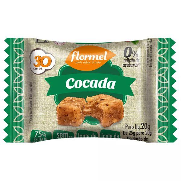 Cocada Zero Açúcar 25gr - Flormel