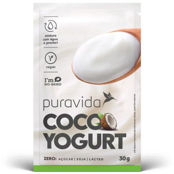 Coco Yogurt 30gr - Pura Vida