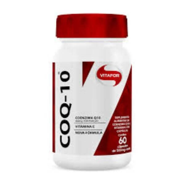 Coenzima Q10 60 Cápsulas De 500mg - Vitafor