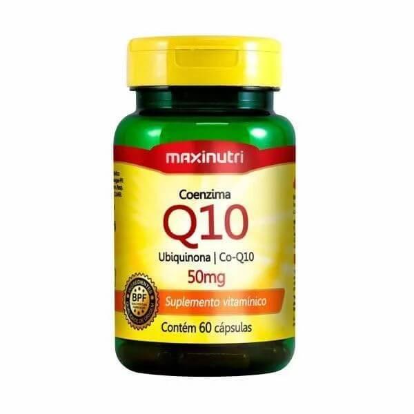 Coenzima Q10 60Cápsulas De 50mg - Maxinutri