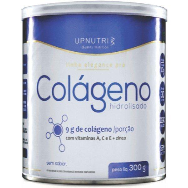 Colágeno Hidrolisado Em Pó Sabor Neutro 300gr - Upnutri