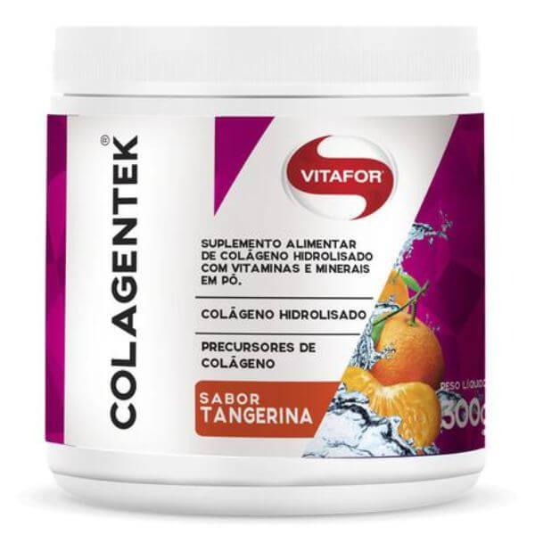 Colagentek Sabor Tangerina 300gr - Vitafor