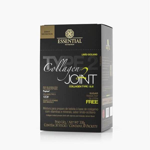 Collagen 2 Joint Limão Caixa Com 30 Sticks 270gr  - Essential Nutrition