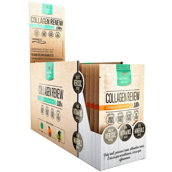 Collagen Renew Sabor Laranja Display 20x10g - Nutrify
