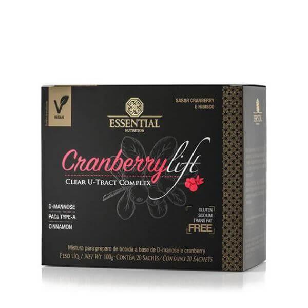 Cranberrylift Caixa Com 20 Sachês 100gr - Essential Nutrition