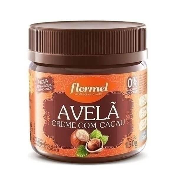 Creme De Avelã Com Cacau Zero Açucar 150gr - Flormel