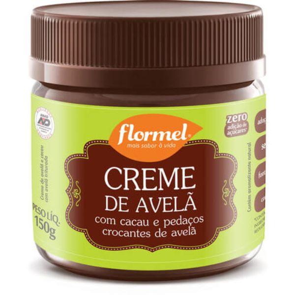 Creme De Avelã Crocante Zero Açúcar 150gr - Flormel