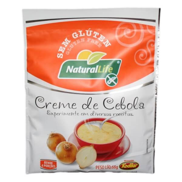 Creme De Cebola Sem Glúten 68gr - Natural Life