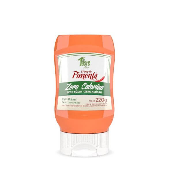 Creme De Pimenta Zero Sódio E Açúcar 220gr - Mrs Taste