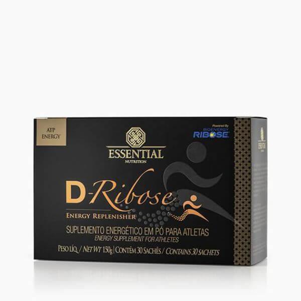 D-Ribose 150G  Caixa Com 30 Sachês De 5G - Essential Nutrition