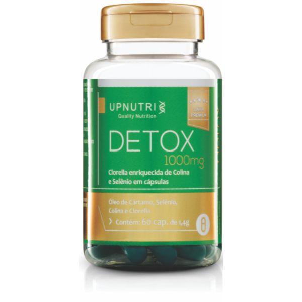 Detox (Clorella, Selênio, Colina E Óleo De Coco) - 60 Cápsulas De 1000mg - Upnutri