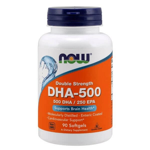 DHA 90 Capsulas de 500mg  - Now