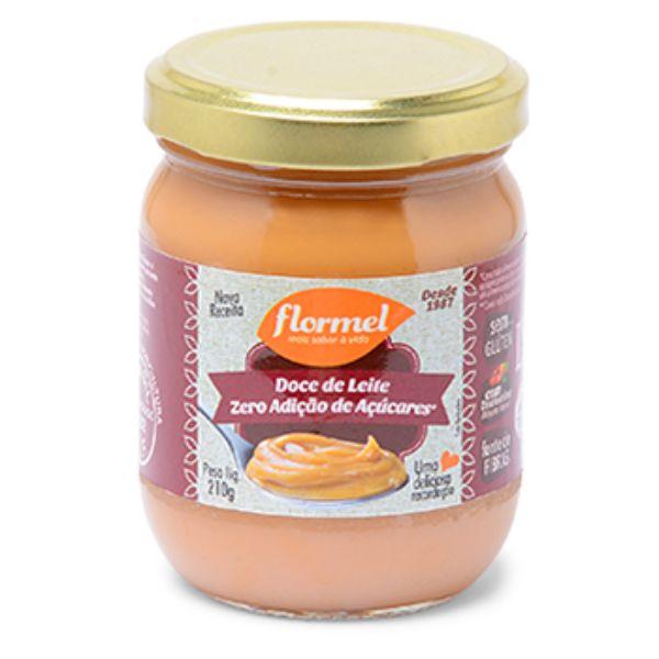Doce De Leite Cremoso Zero Açúcar 210gr - Flormel