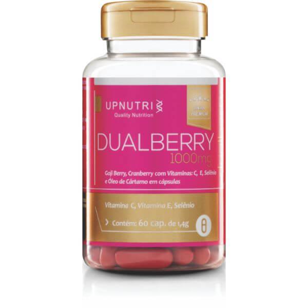 Dual Berry (Gojiberry, Cranberry Com Vitamina C, E Selênio E Óleo De Cartamo) 60Cápsulas De 1000mg - Upnutri