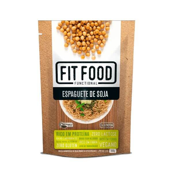 Espaguete De Soja 200gr - Fit Food
