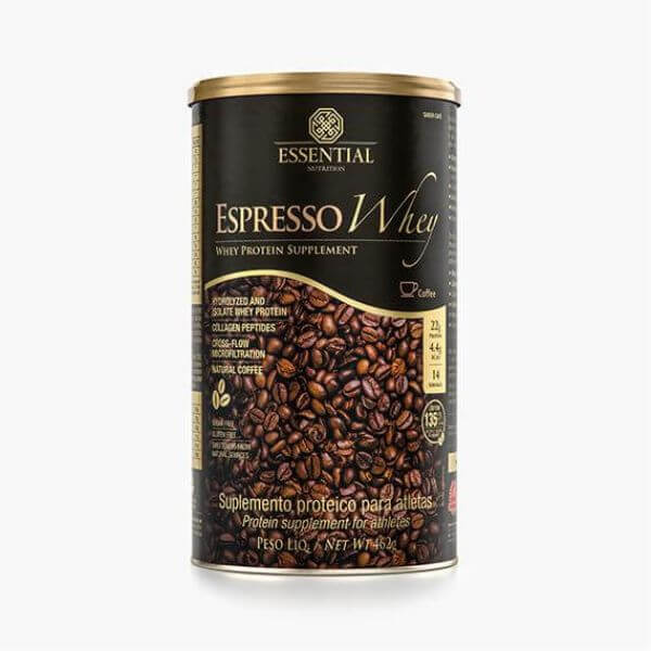 Espresso Whey Lata 462gr - Essential Nutrition
