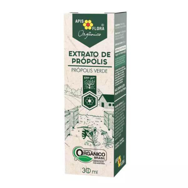 Extrato De Propolis Verde Orgânico 30ml - Apisflora