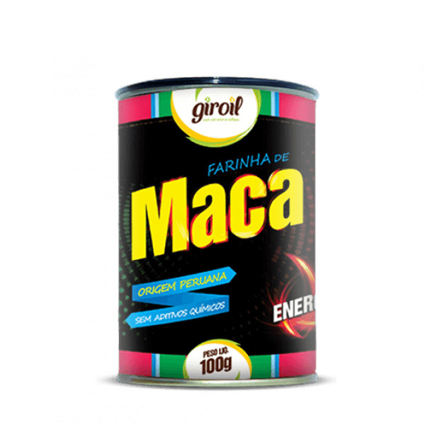 Farinha De Maca Peruana 100gr - Giroil