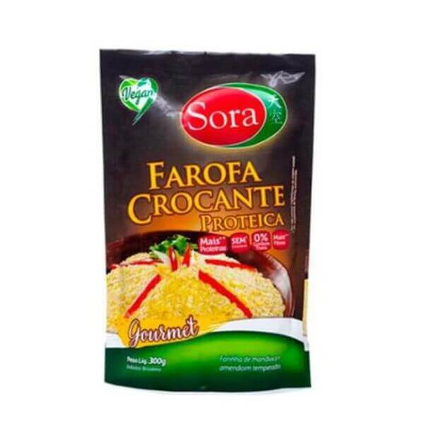 Farofa Proteica Crocante Gourmet 300gr - Sora