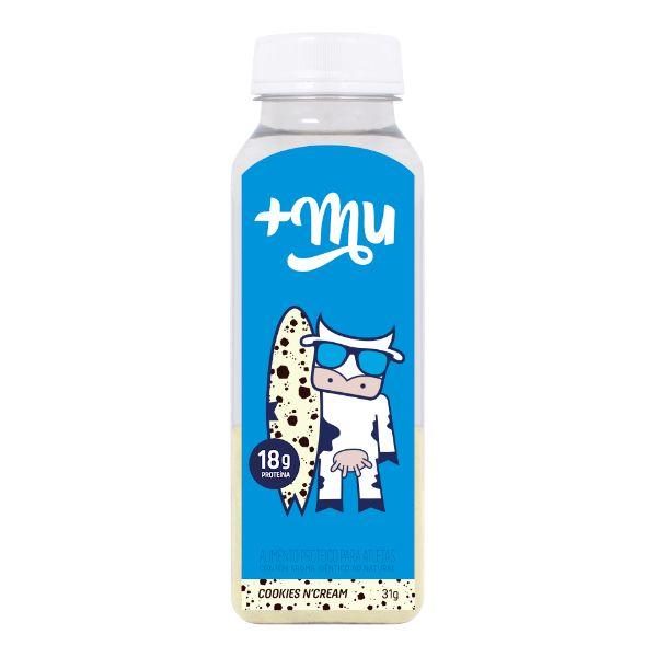 Garrafinha De Whey Cookies And Cream 31G - +Mu