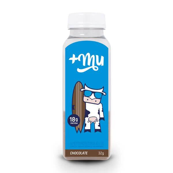 Garrafinha De Whey +Mu Chocolate 32G