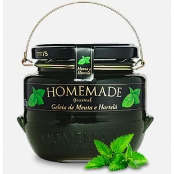 Geleia de Menta c/ Hortela Gourmet 320g Homemade