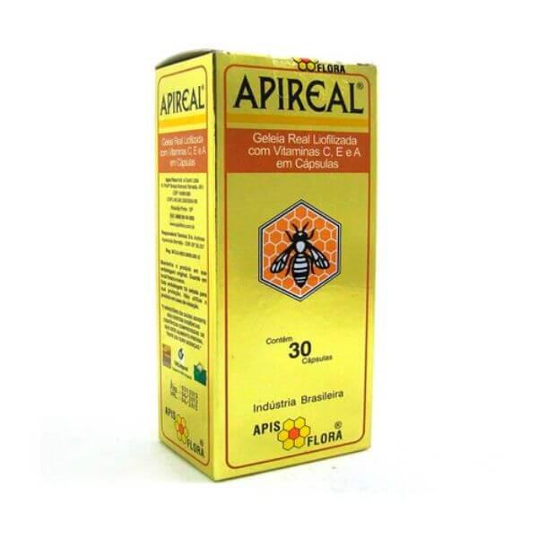 Geleia Real Liofolizada 30 Capsulas - Apisflora
