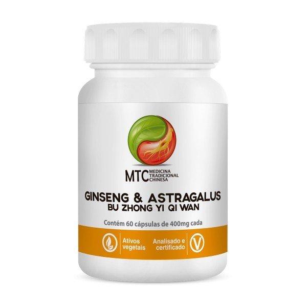 Ginseng E Astragalus (bu Zhong Yi Qi Wan) 60 Caps - Vitafor