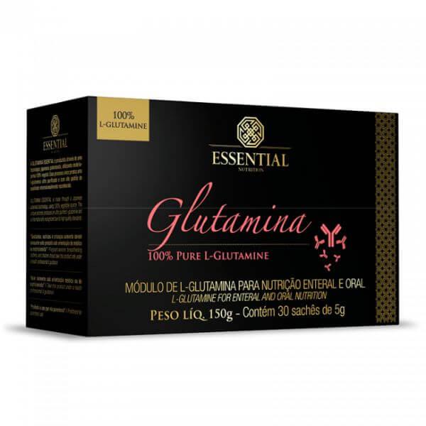 Glutamina 30 Sachês De 5gr - Essential Nutrition