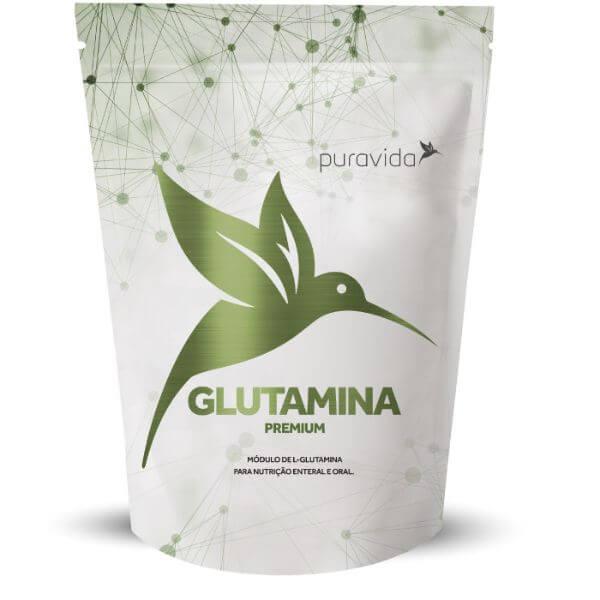 Glutamina Em Pó Pack 300gr - Pura Vida