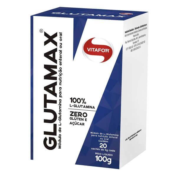 Glutamina Glutamax Caixa com 30 sachês de 5gr - Vitafor