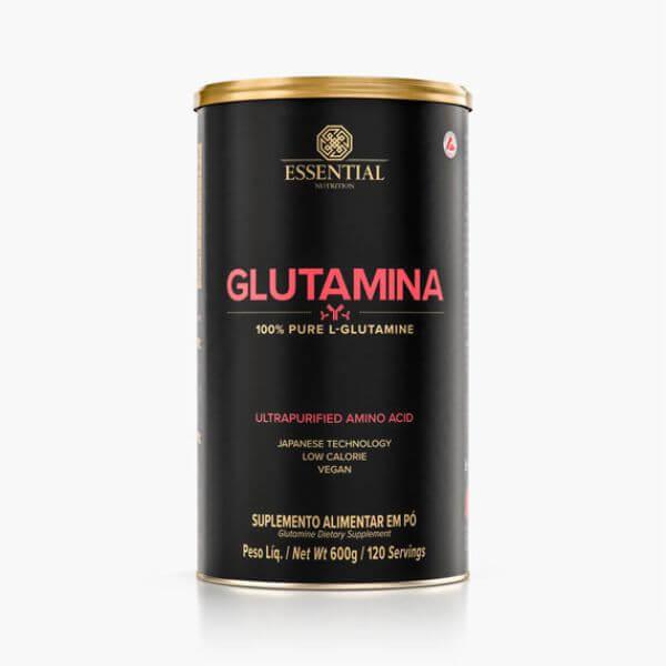 Glutamina Lata 600G - Essential Nutrition