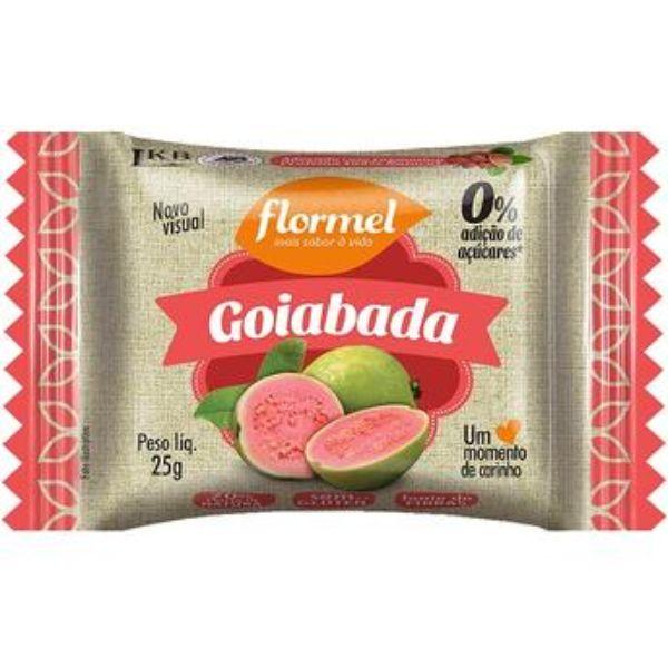 Goiabada Zero Açucar 25gr - Flormel
