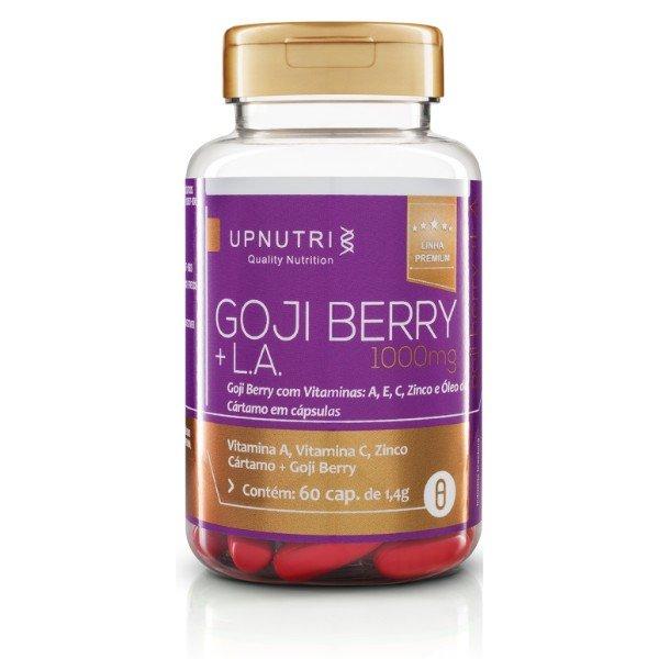 Gojiberry 60Cápsulas De 1000mg - Upnutri