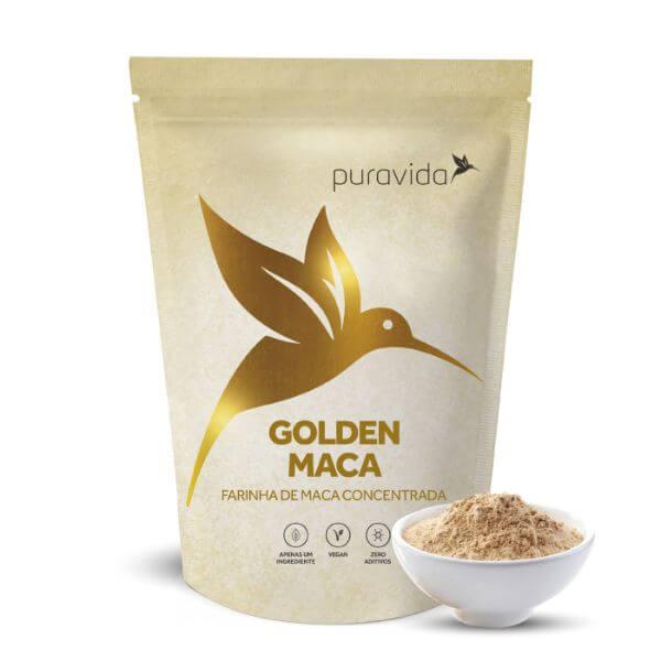 Golden Maca Em Pó Pack 100gr - Pura Vida