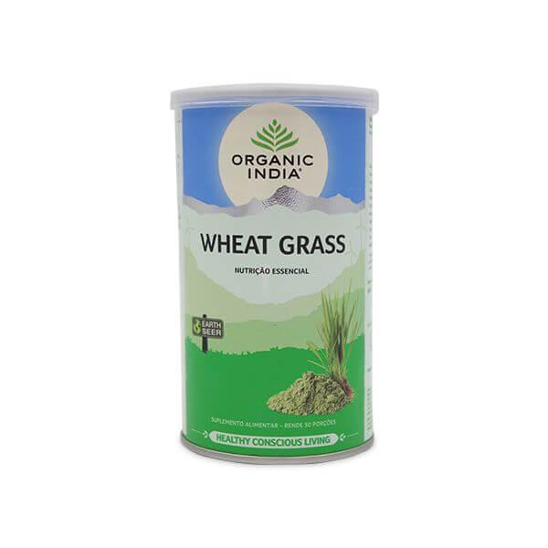 Grama de Trigo Organic India em Po 100g